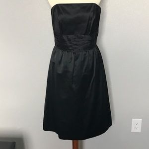 Lilly Pulitzer Black strapless dress
